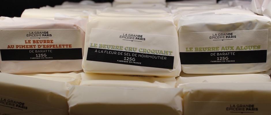beurre cru - Découverte la nouvelle grande épicerie de Paris