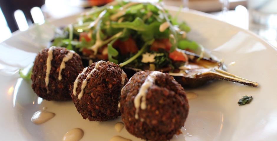 falafel et aubergine jérusalem - Brunch d'amour Merguez et Pastrami