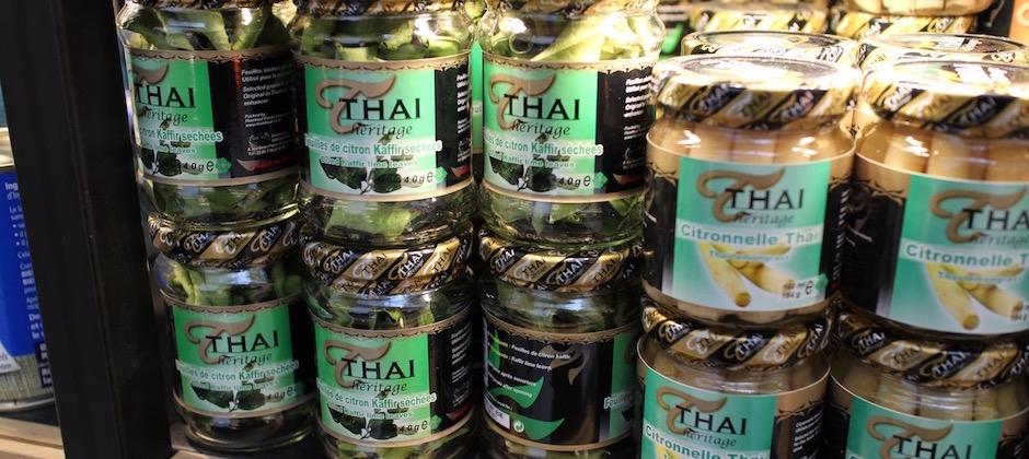 feuilles de kafir - Découverte la nouvelle grande épicerie de Paris
