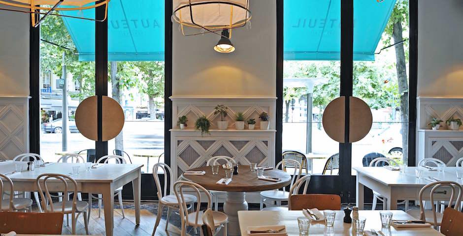 maison de vacances - Restaurant Auteuil Brasserie mon QG de l'été