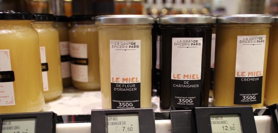 miel de fleur d'oranger - Découverte la nouvelle grande épicerie de Paris