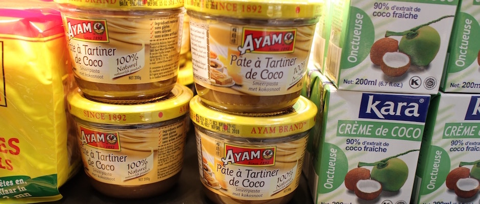 pate à tartiner de coco - Découverte la nouvelle grande épicerie de Paris