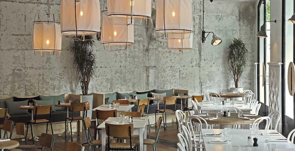 salle laura gonzales - Restaurant Auteuil Brasserie mon QG de l'été