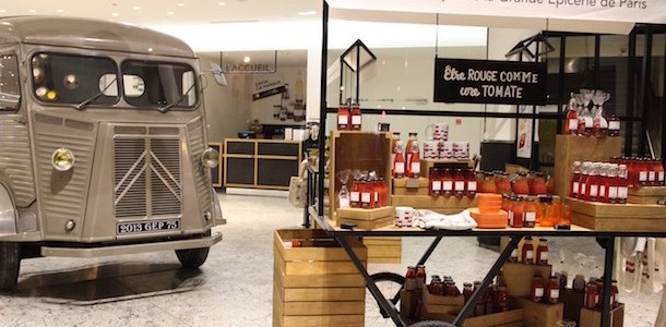 une BM - Découverte la nouvelle grande épicerie de Paris