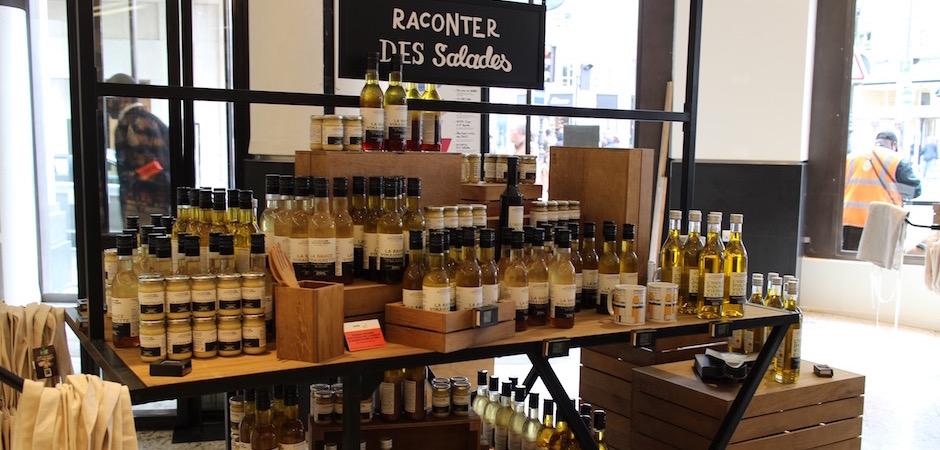 vinaigrette et assaisonnent - Découverte la nouvelle grande épicerie de Paris