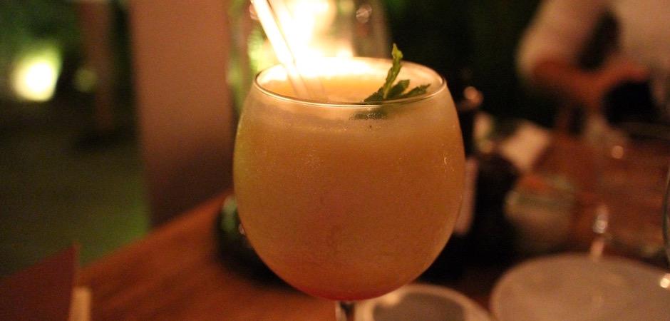 pina colada - Voyage foodie à Saint Barth