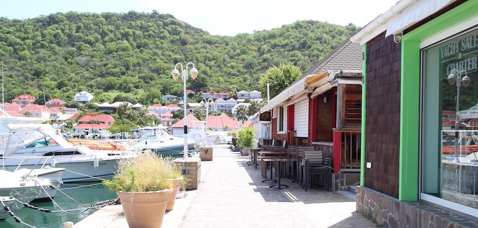 port de gustavia - Voyage foodie à Saint Barth