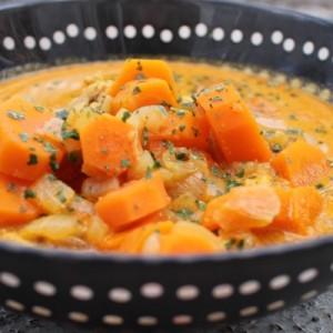 recette Soupe thaï au poulet