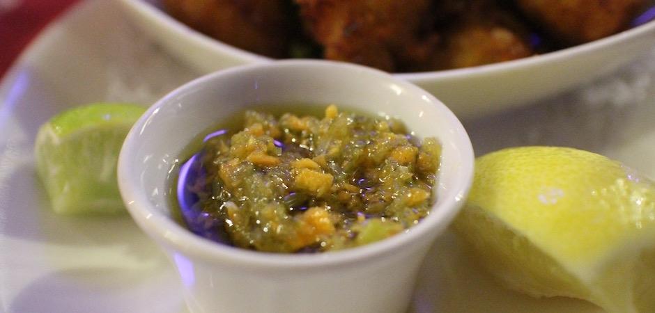sauce chien - Voyage foodie à Saint Barth