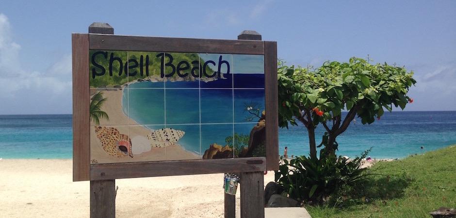 shell beach - Voyage foodie à Saint Barth