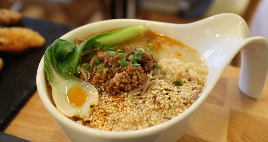 soupe de nouilles au porc - Restaurant Les Saveurs du Sichuan