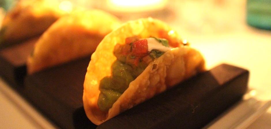 tacos de thon frais guacamole - Voyage foodie à Saint Barth