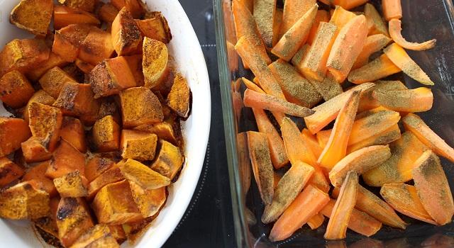 carottes-et-patates-douces-cuites-assiette-bien-etre-healthy-bowl-equilibre