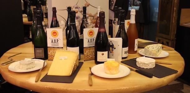 degustation-de-fromages-aop-canard-et-champagne