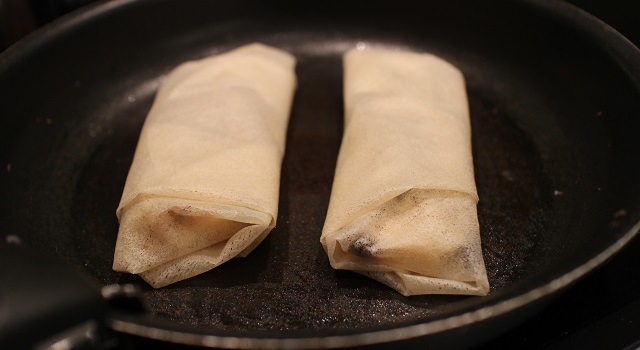 faire cuire les feuilletés - Croustillant de Saint Nectaire