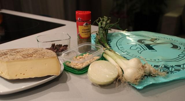 ingredients Croustillant de Saint Nectaire