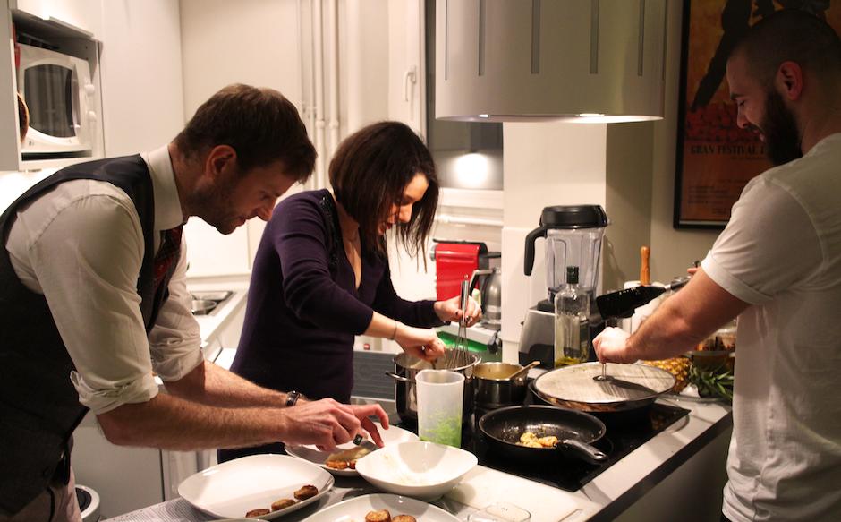 cuisine entre amis - Moi Chef - Qui sera le Chef