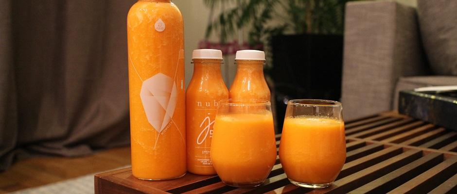 jus maison - Smoothie carotte orange gingembre