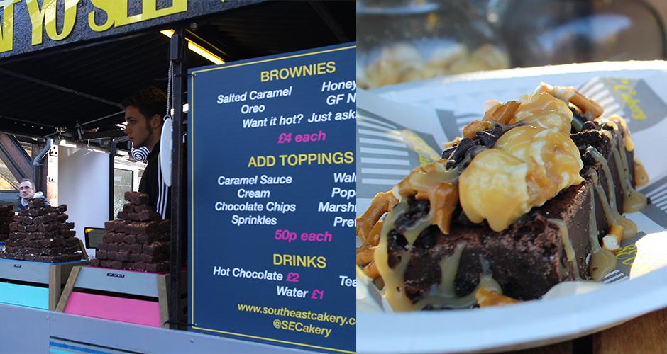 brownies - Camden street food market - London