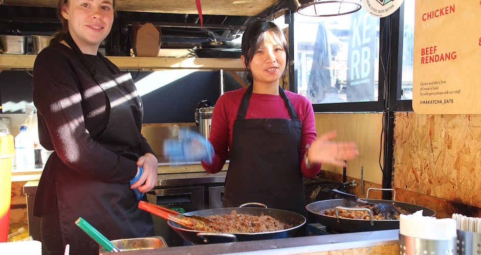 esprit street food - Camden street food market - London