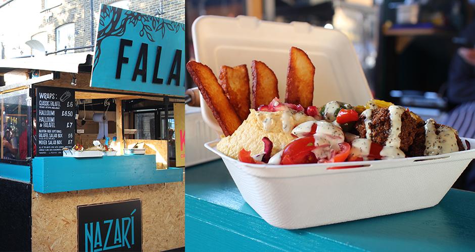 falafel - Camden street food market - London