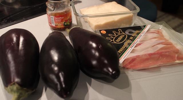 ingrédients - Makis a l'italienne au jambon de parme