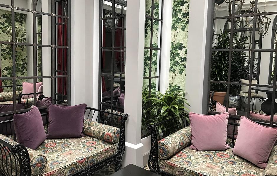 jardin d'hiver - Restaurant Saint-James Paris l'étoilé secret