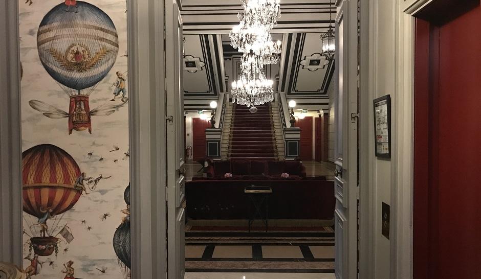 lobby - Restaurant Saint-James Paris l'étoilé secret