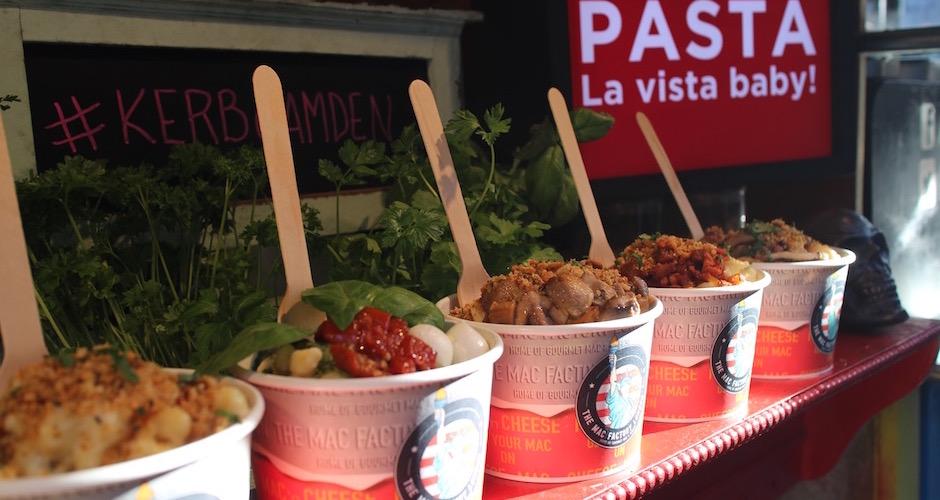 pasta - Camden street food market - London