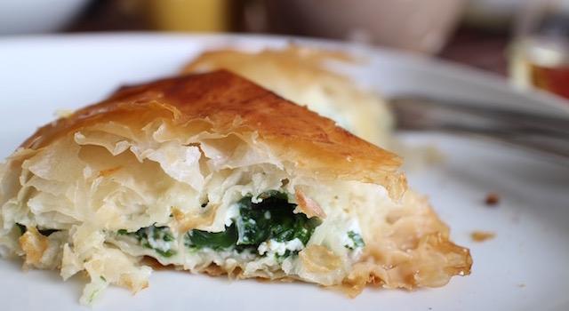 feuilletés farcis au fromage et légumes - Boreks au brocciu et blettes