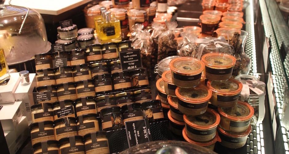 foie gras de canard épicerie fine - Visite guidée des halles de Lyon Paul Bocuse