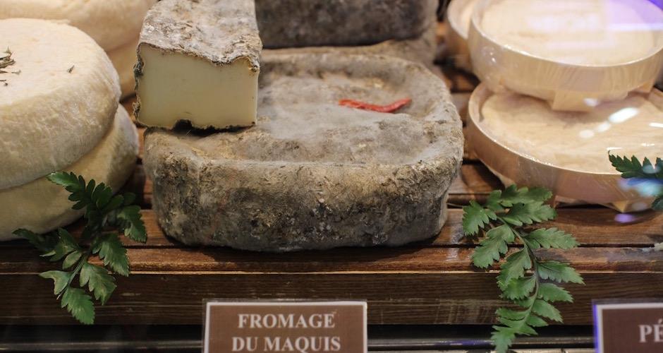 fromage corse - Visite guidée des halles de Lyon Paul Bocuse