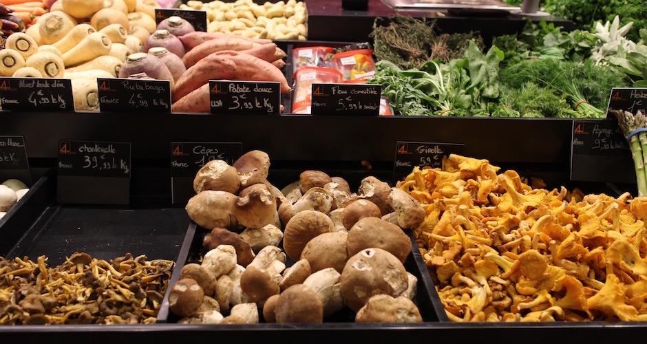 légumes de saison - Visite guidée des halles de Lyon Paul Bocuse
