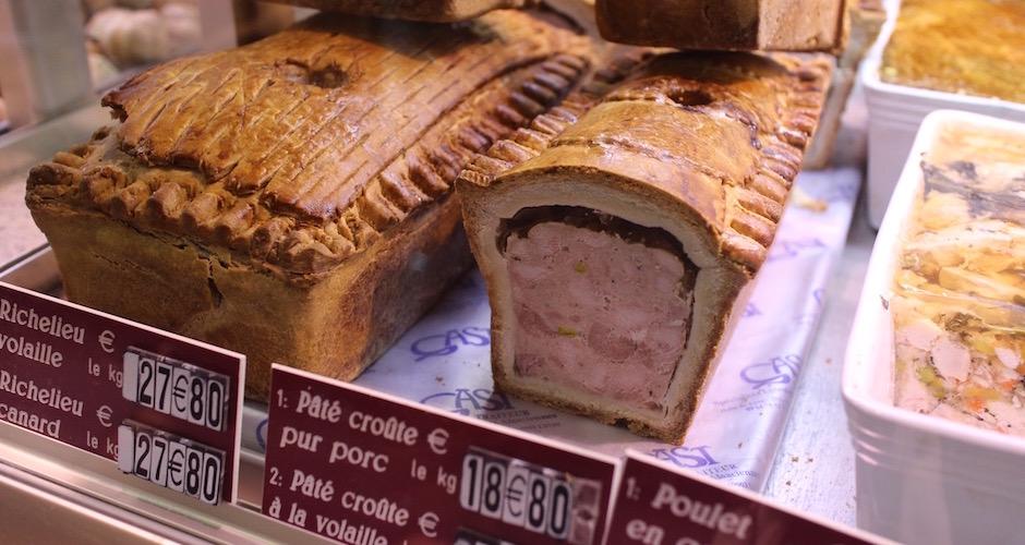 paté en croute - Visite guidée des halles de Lyon Paul Bocuse