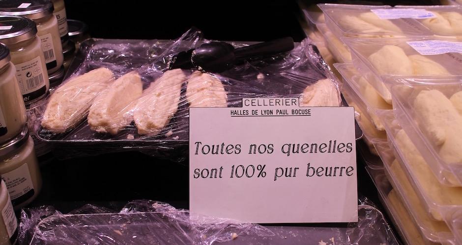 quenelles de brochet - Visite guidée des halles de Lyon Paul Bocuse