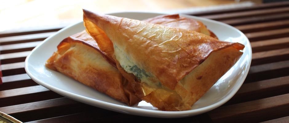 recette facile - Boreks au brocciu et blettes