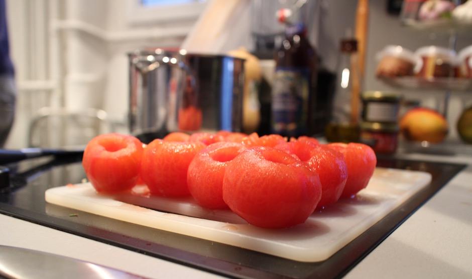 Monder les tomates - Soirée Pasta La Vista Baby