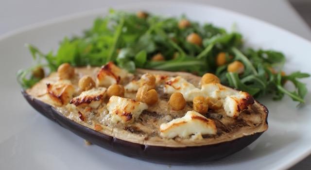 entrée délicieuse et légère - Veggie aubergine gourmande