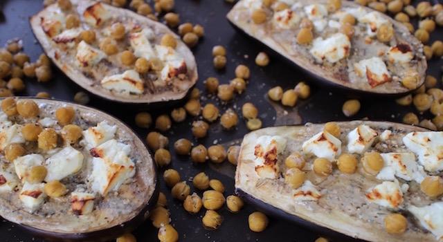 faire dorer le fromage - Veggie aubergine gourmande