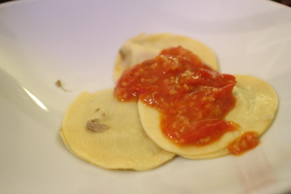 raviolis maison - Soirée Pasta La Vista Baby