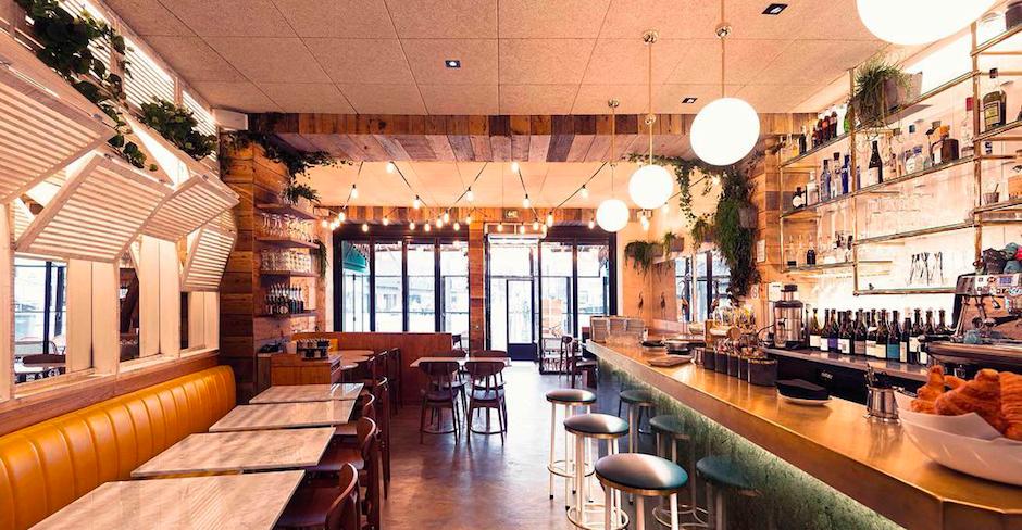 salle du Restaurant Les fauves - exotic chic à Montparnasse