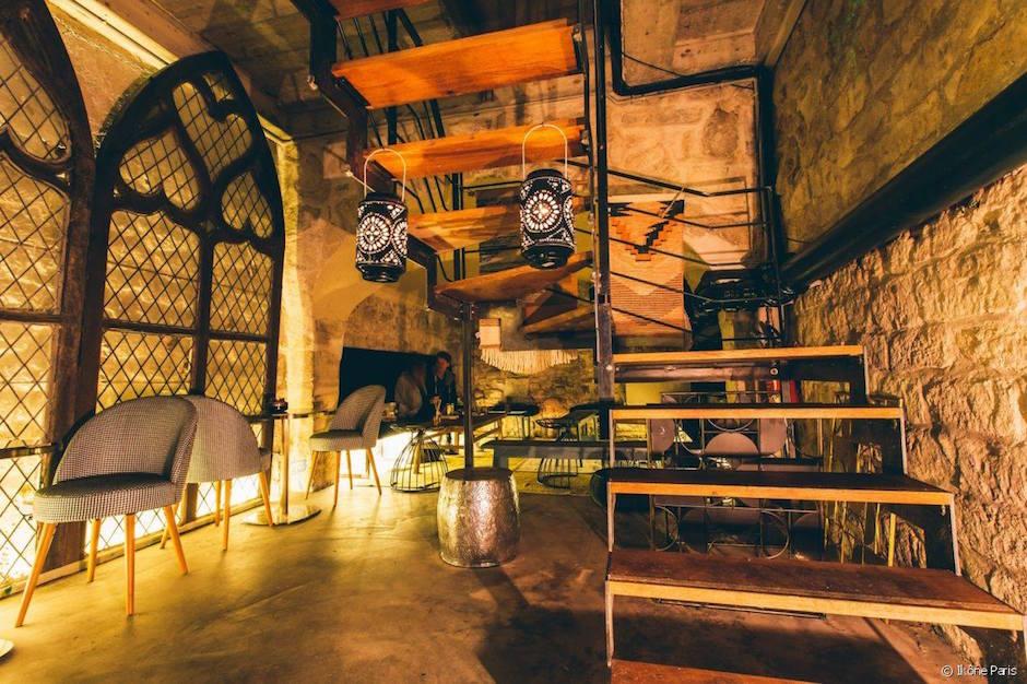 décoration tendance - Restaurant Ikône Le nouveau temple parisien de la gastronomie grecque