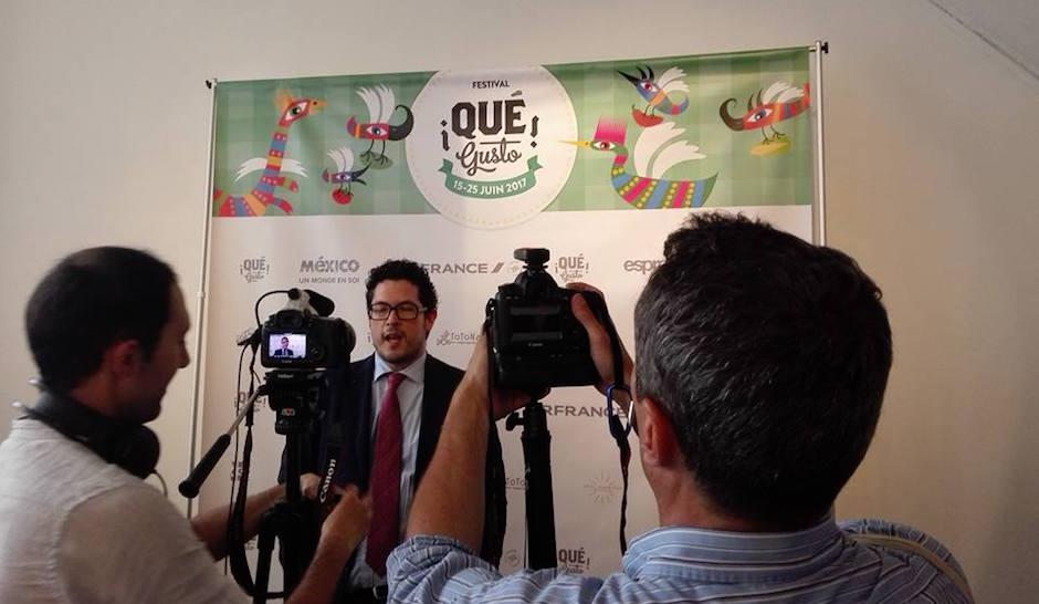 interview - Festival Qué Gusto La gastronomie mexicaine à Paris