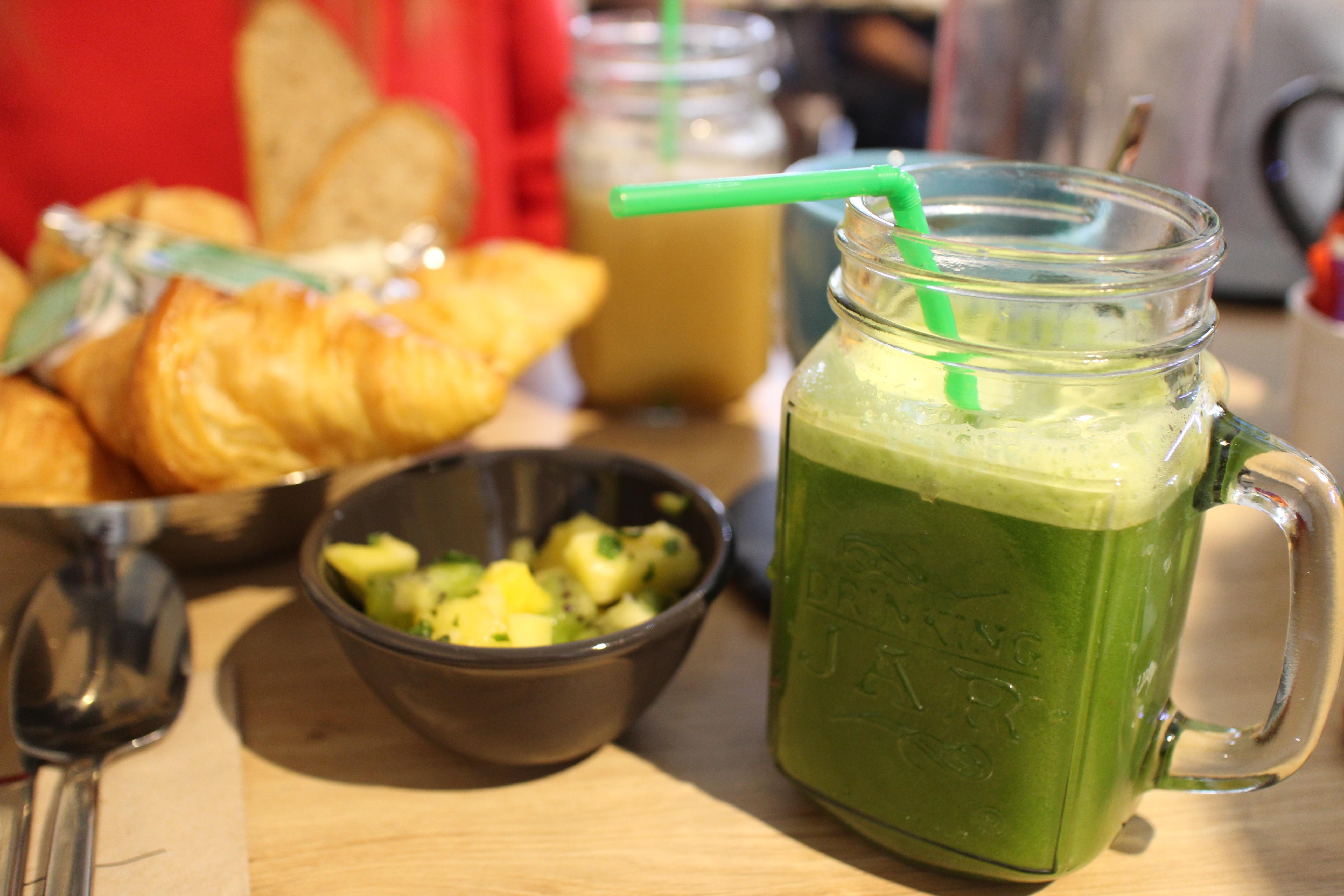 jus vert - Restaurant Ensuite - jus frais et brunch vitaminé