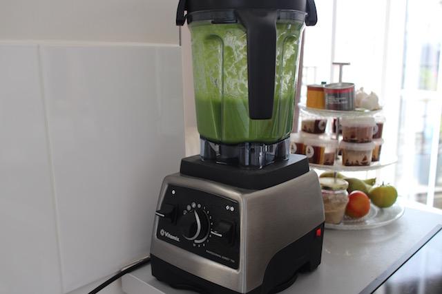 mixer les légumes vitamix - Smoothie vert de légumes au sarrasin croustillant