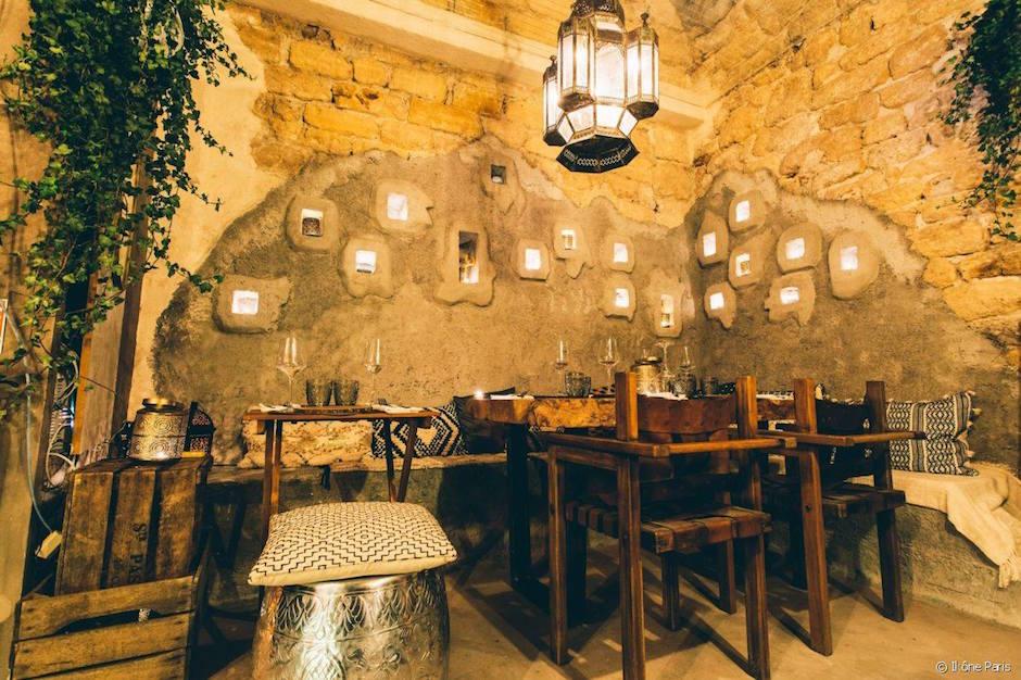 salle - Restaurant Ikône Le nouveau temple parisien de la gastronomie grecque