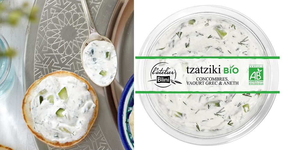 tratziki blini bio - Food Fight Mast Khiar vs Tzatziki