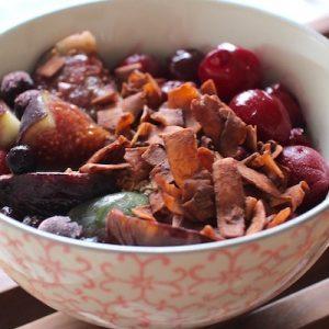 facile sain et délicieux - Breakfast bowl parfait healthy gourmand