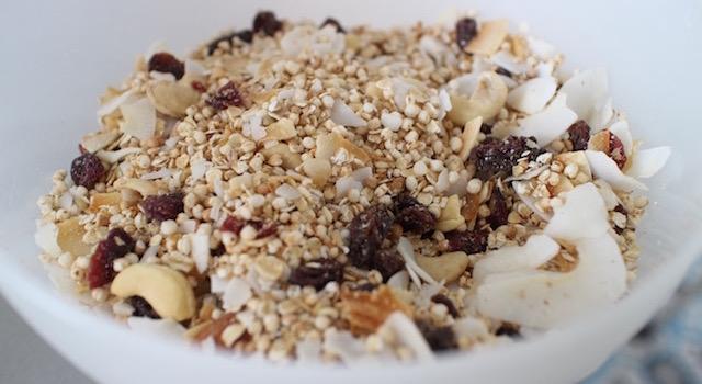 mélanger les céréales - Céréales exotiques croustillantes