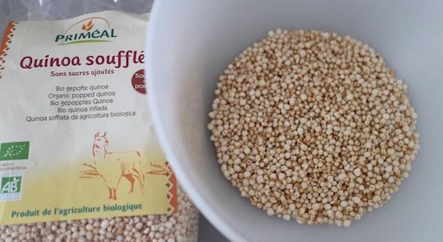 quinoa croustillant - Céréales exotiques croustillantes